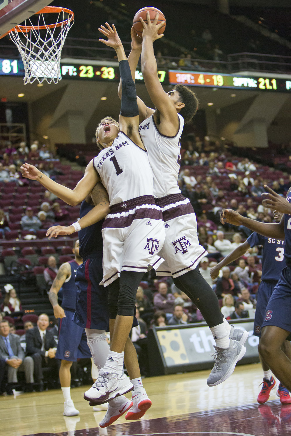 TAMU takes on South Carolina State