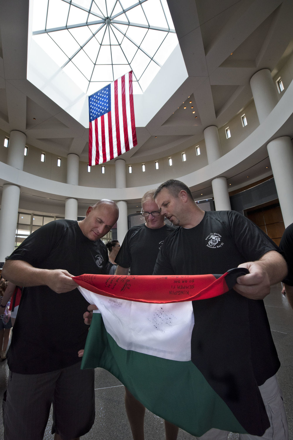 Marines reunite for the 25th Anniversary of the Gulf War