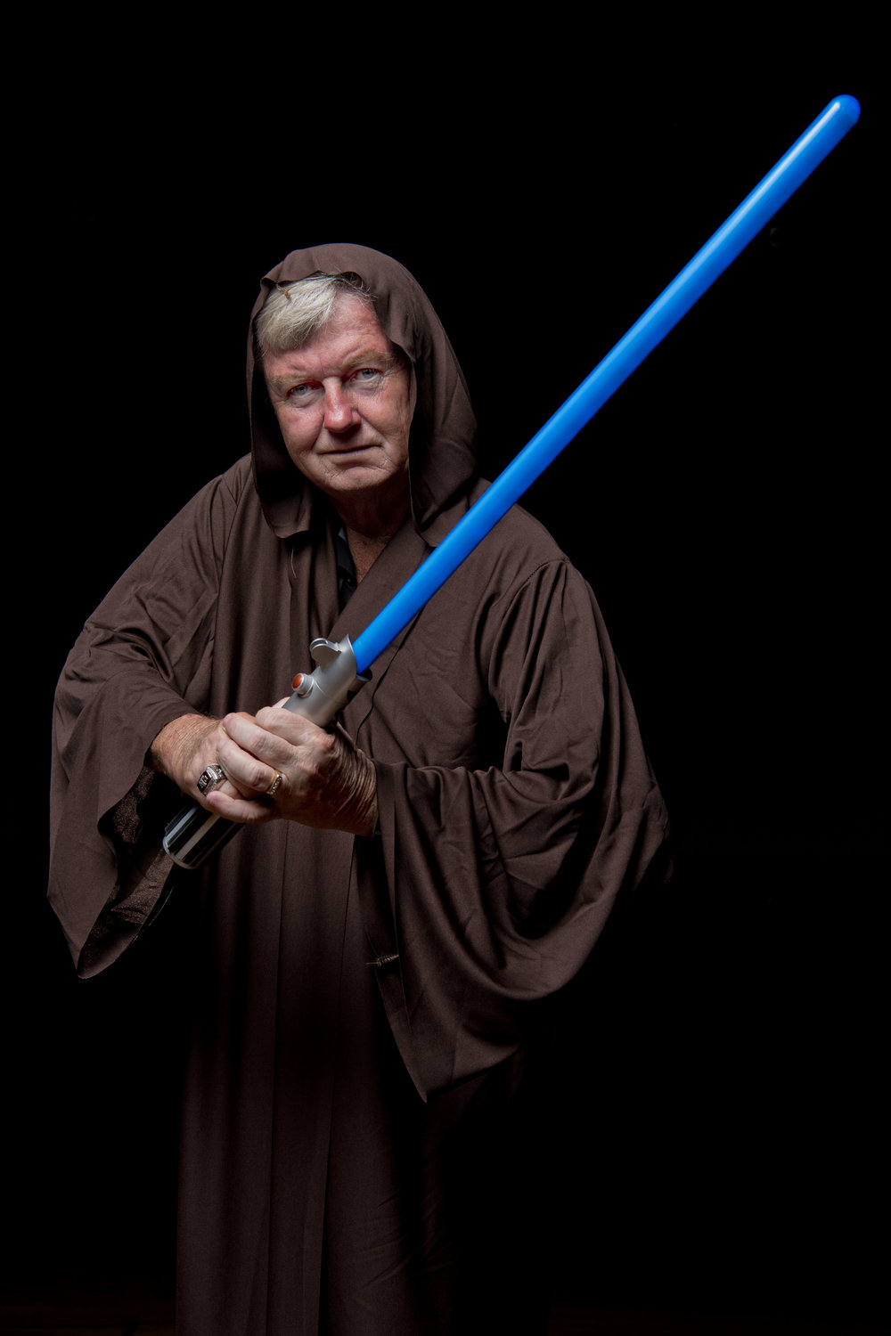 Gary Blair as Obi Wan Kanobi