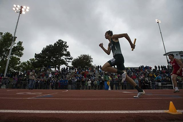 I was afraid of how sunbaked I'd be after state track this year, only to find it wet, cold, and generally miserable. But at least I only had to cover the last third of it. Shoutout to @flannel.photog for carrying the photo team this go around. (Timothy Hurst/The Coloradoan)