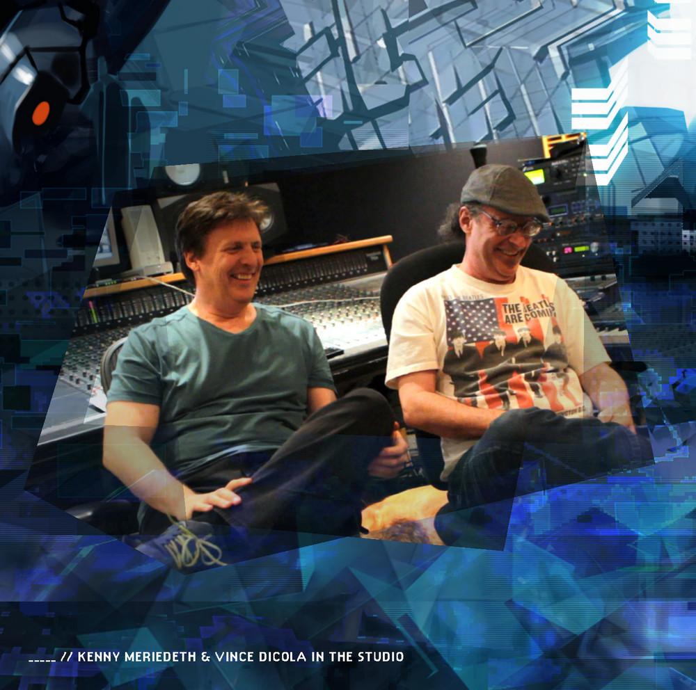 Kenny Meriedeth & Vince DiCola im Studio