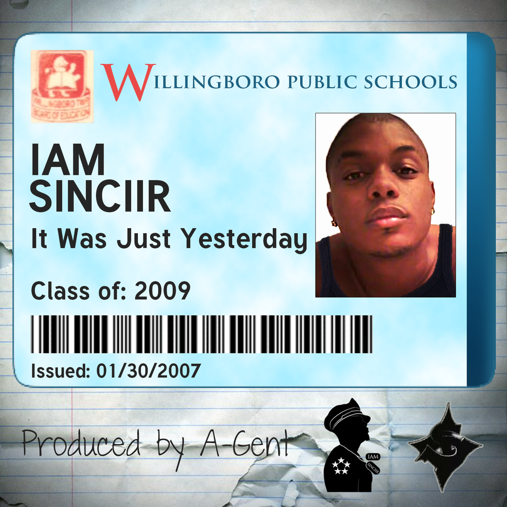 IAM SINCIIR - It Was Just Yesterday cover art.png