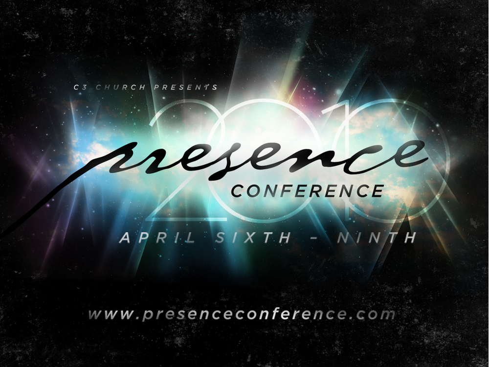 Website concept & design for C3 Presence Conference