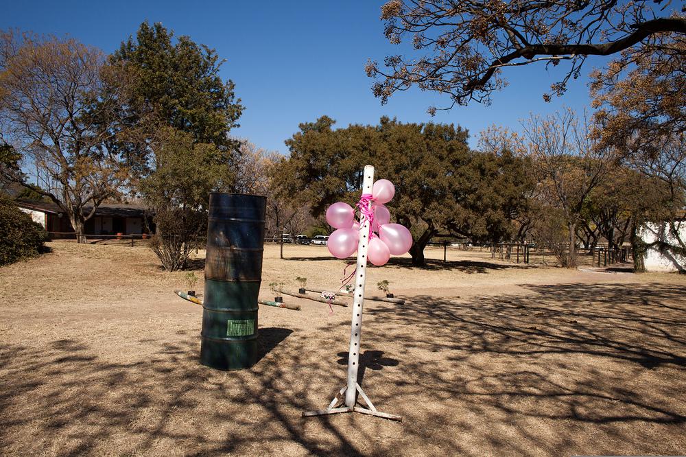 """25°59'53.0""""S 28°02'33.1""""E ,  20/07/2014, 1054 Winner's balloons, Phaeton Park Stables, Kyalami, South Africa"""