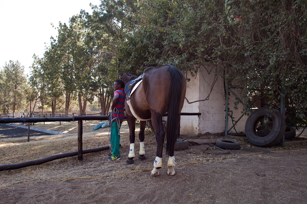 "25°59'51.1""S 28°02'33.4""E ,  20/07/2014, 1051 Stablehand, Phaeton Park Stables, Kyalami, South Africa"