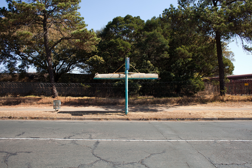 """26°13'54.3""""S 28°03'09.9""""E ,  23/07/2014, 1219 Bus shelter, Rosettenville, Johannesburg, South Africa"""