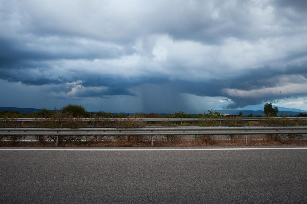 "38°39'42.0""N 21°14'29.5""E , 06/09/2014, 1846 Rain,  Ionia Odos  highway, Aetolia-Acarnania, Greece"