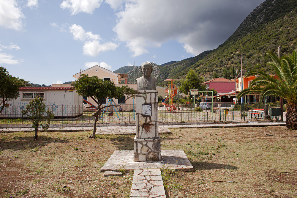 "38°40'49.4""N 20°41'52.9""E , 06/09/2014, 1046 Poet Angelos Sikelianos, Vliho Bay, Lefkada"