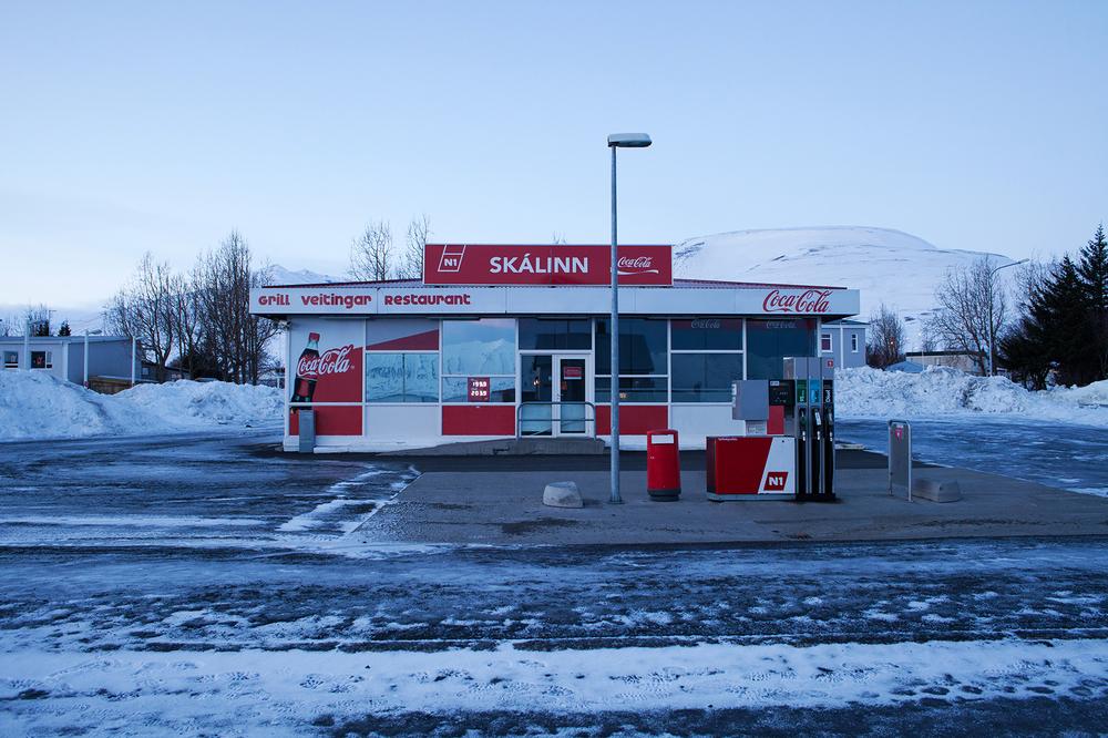 "65°58'12.8""N 18°31'41.5""W ,  09/01/2015, 1106 Coca Cola petrol station, Dalvik, Iceland"
