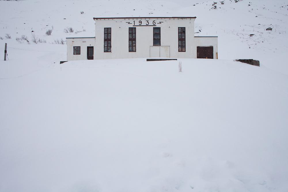 "66°09'24.1""N 18°54'42.6""W , 01/02/2015, 1537 Defunct power station, Siglufjörður, Iceland"