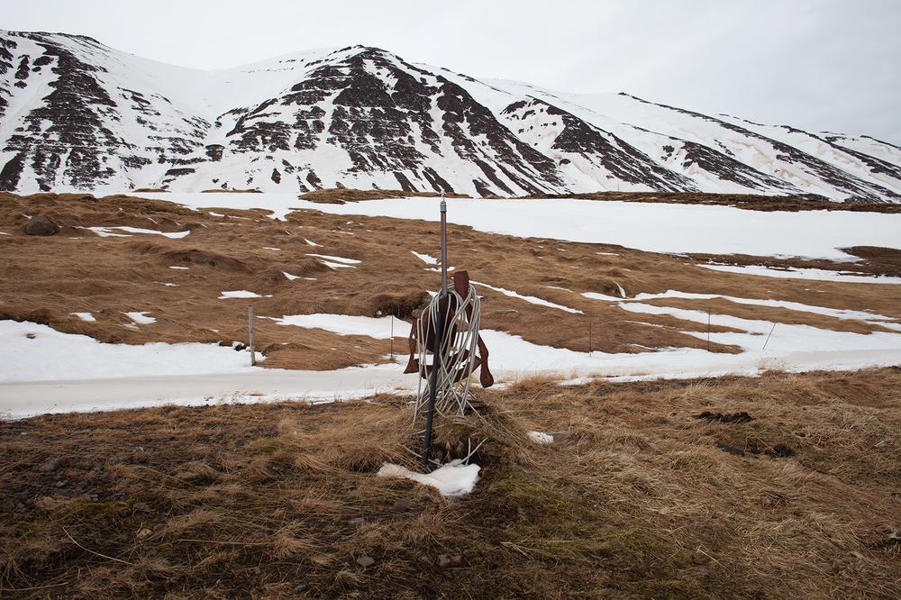 "66°04'11.7""N 18°40'45.9""W , 14/02/2015, 1545 Half-drilled geothermal bore hole, Ólafsfjörður, Iceland"