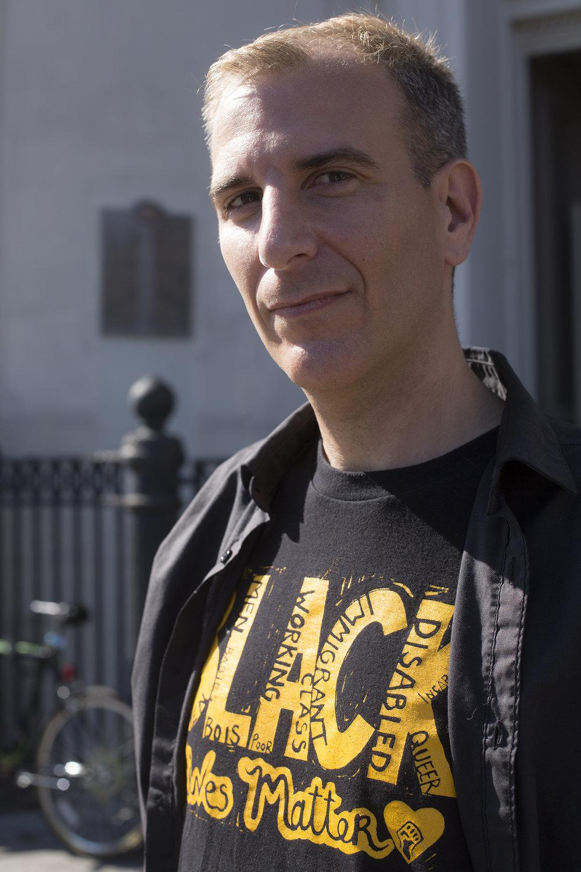 Jordan Flaherty, author of  No More Heroes.