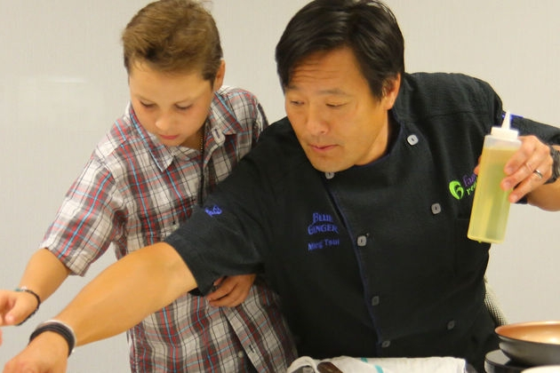 Ming Tsai: the celebrity chef who's supporting families affected by pediatric cancer - It's safe to say Ming Tsai has a lot on his plate: he's a chef, a restaurateur, a TV show host and has several side projects.