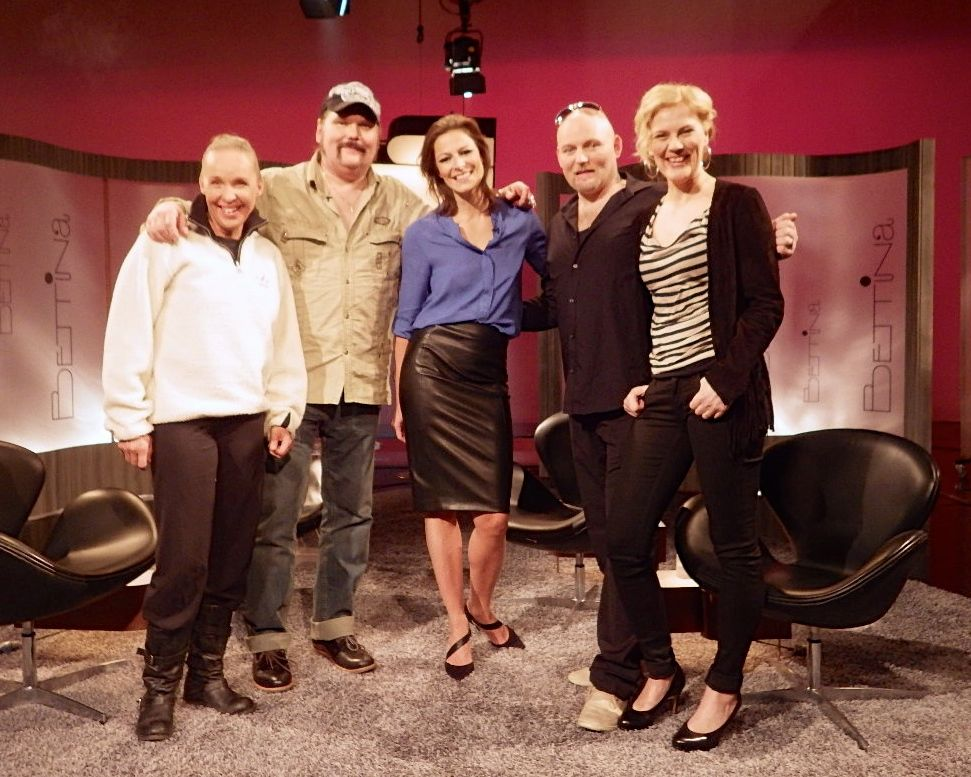 Had a good time with  Anders Tengner,  Mia Hafrén,  Håkan Hemlin   & Bettina Sågbom in the studio,