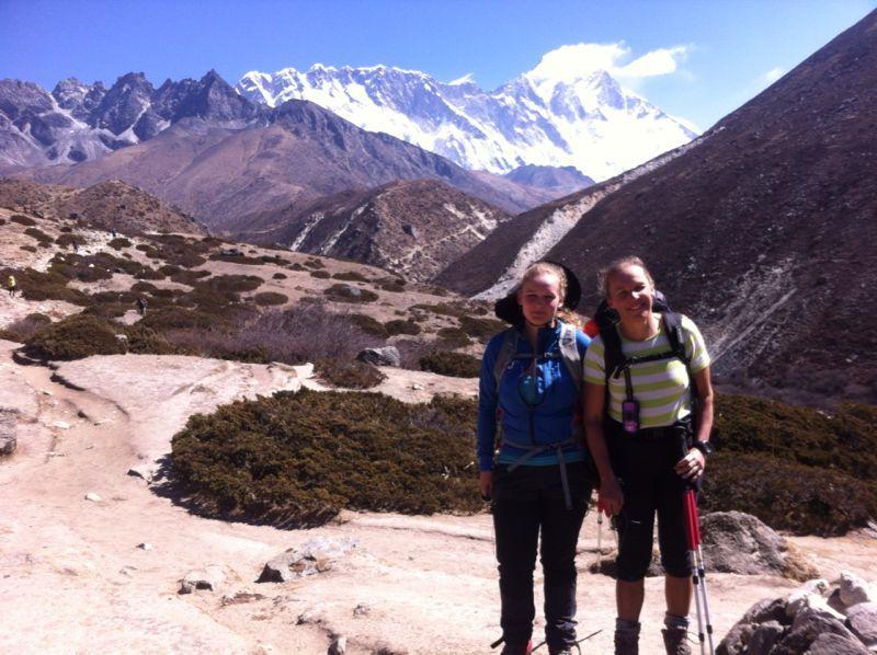Jessica, Johanna & Everest