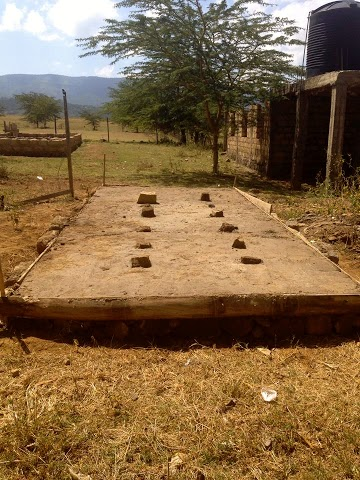 Where the new toilets were going to be built
