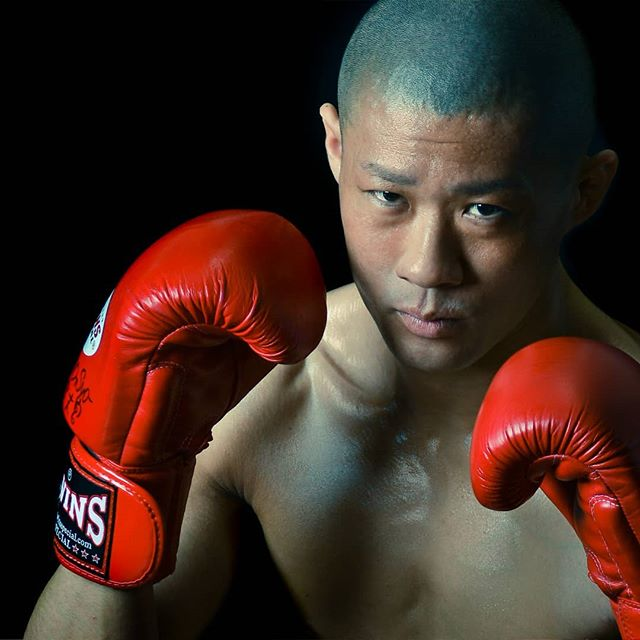The Kickboxer #photography #portrait #portraitphotography #box #boxing #boxer #kickboxer #kickboxing  #fight #fighter #warrior #red #man #japan #japanese