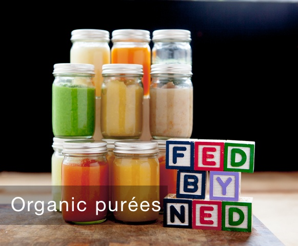 Weaning baby purees