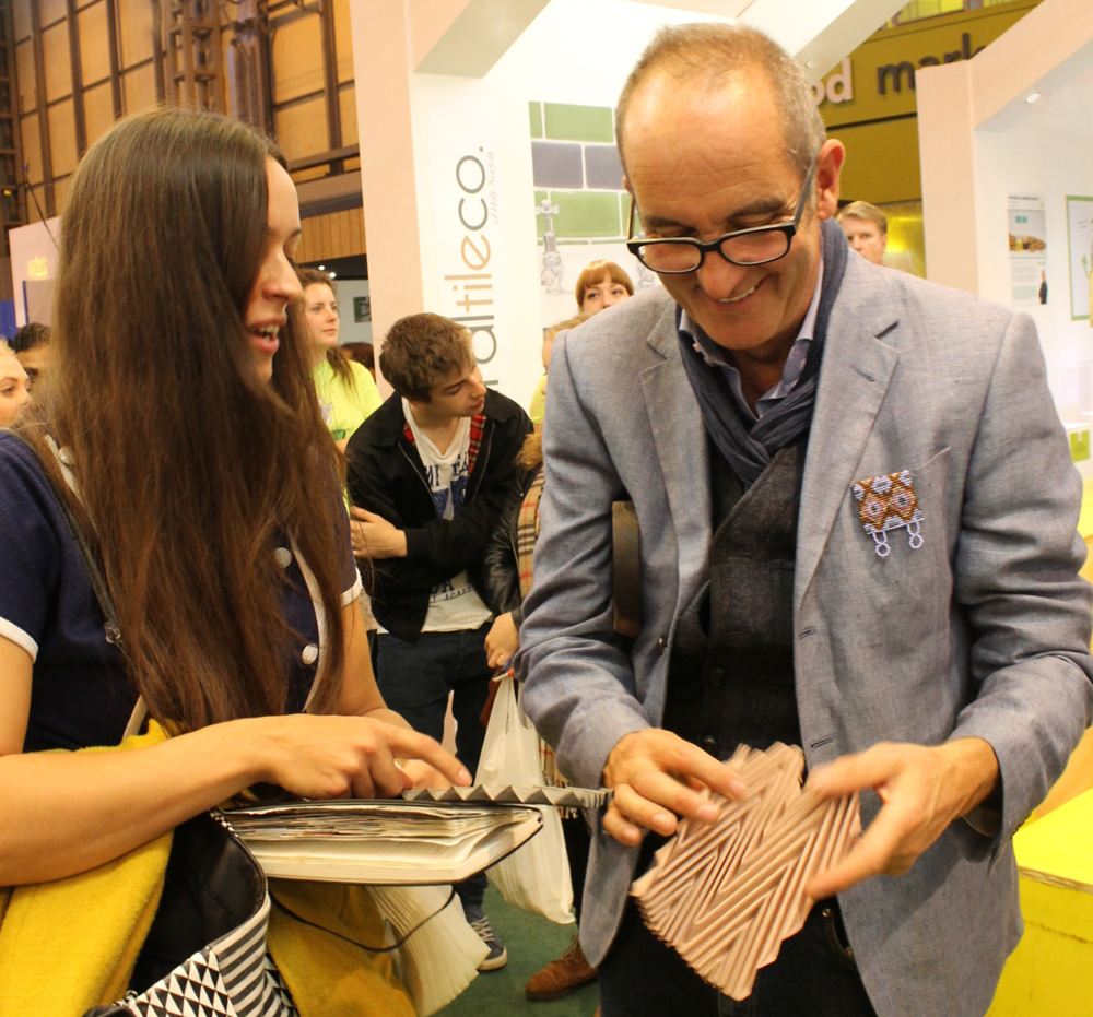 Kyla McCallum meets Kevin McCloud
