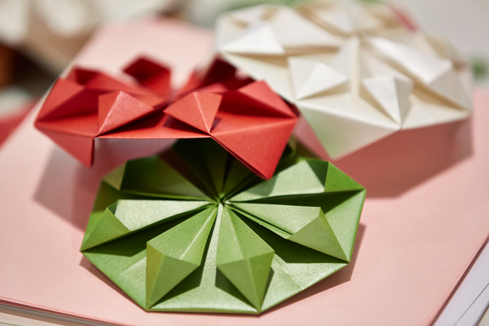 Origami workshops london H&M