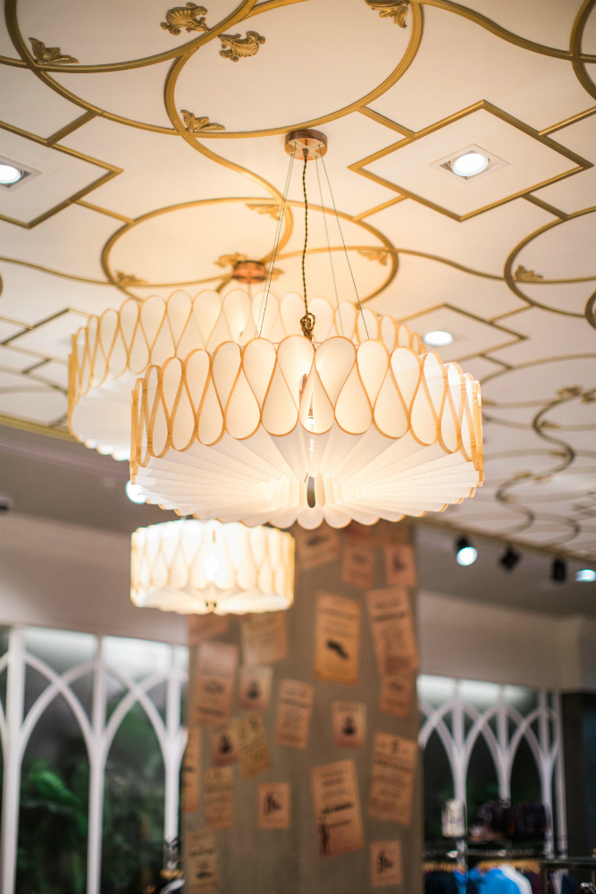 bespoke lighting london ted baker
