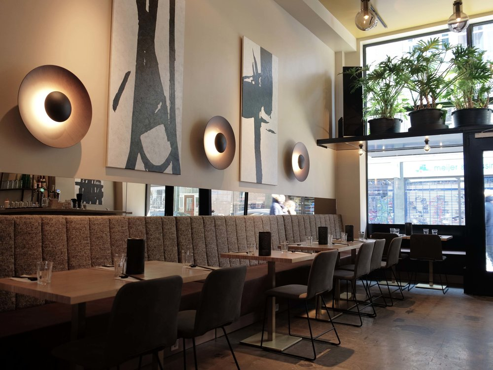 Restaurant Nooch Rotterdam westewagenstraat 56 lex de gooijer interiors 020jpg
