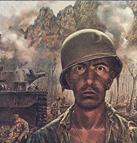 Thousand Yard Stare, Tom Lea