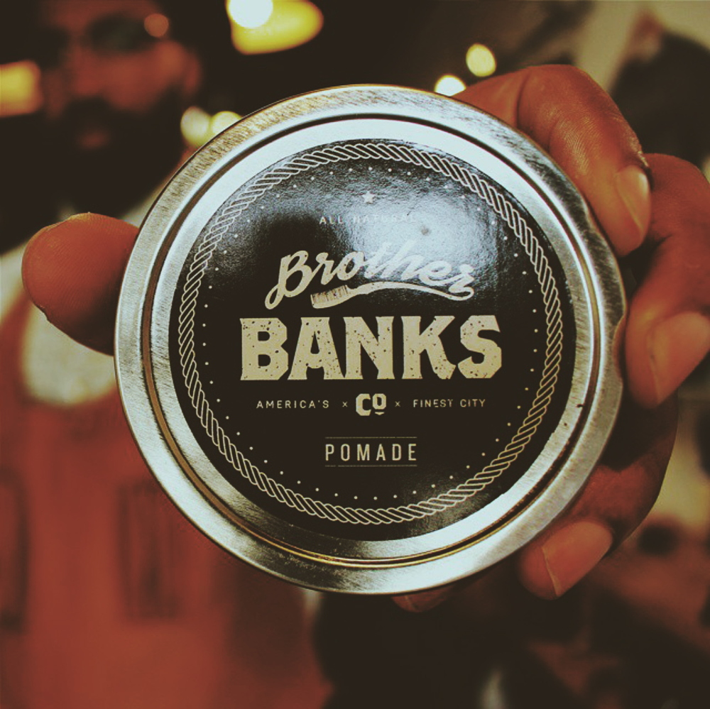 Brother Banks All Natural 4oz Pomade