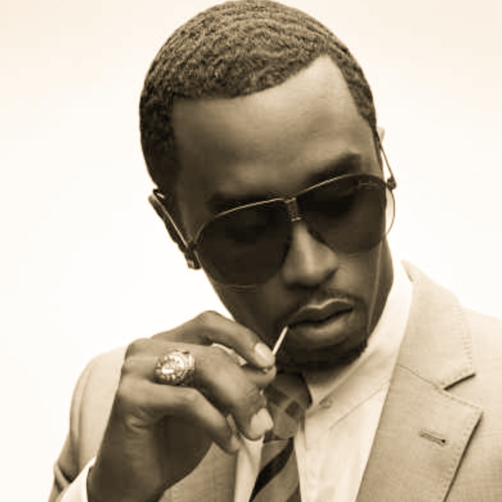 "Badboy Diddy who recently told his son's trainer ""take that, take that"""