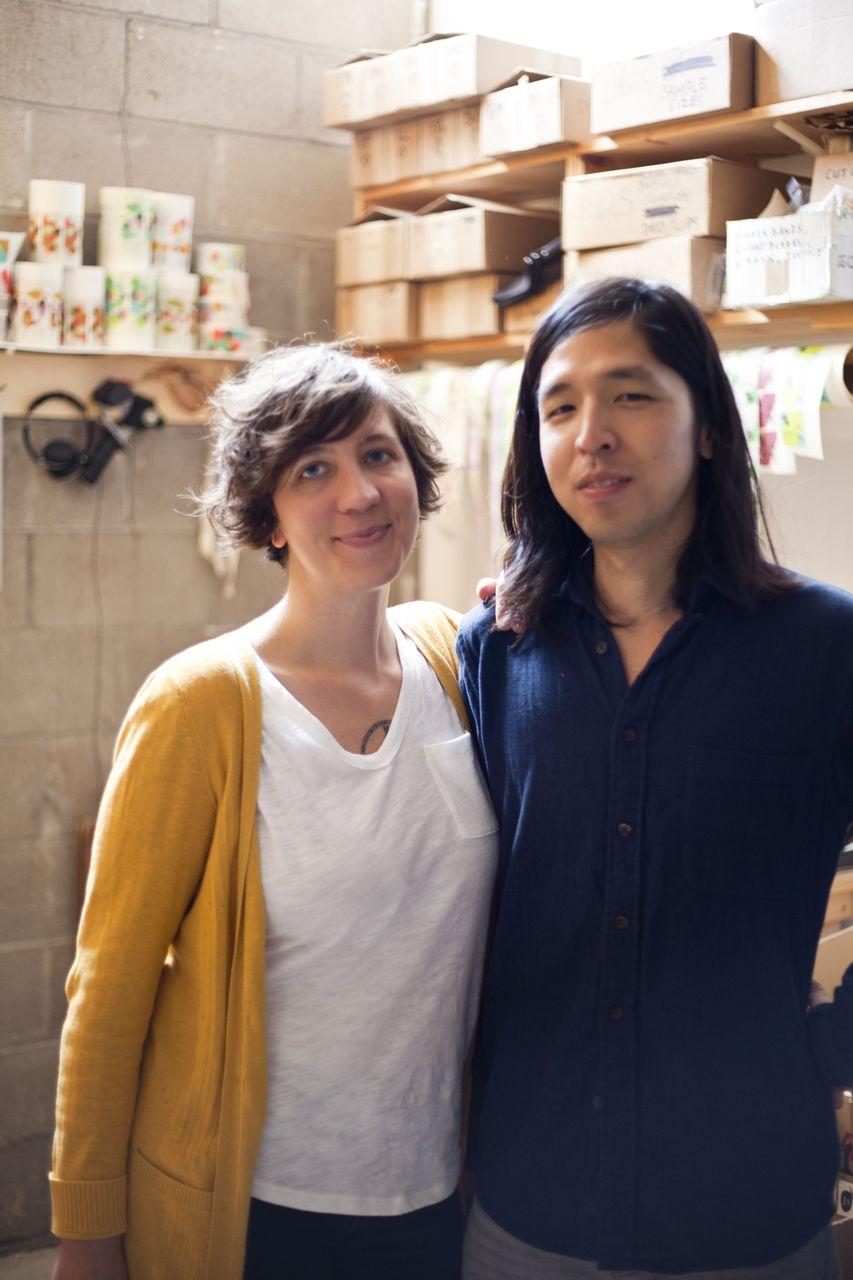 Tara Pelletier with Jeff Kurosaki; image by Danny Rico