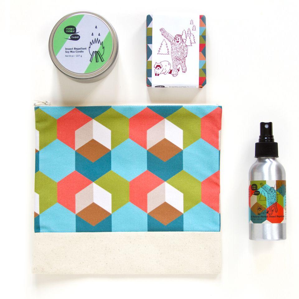 Meow Meow Tweet Camper's Kit; image courtesy of brand