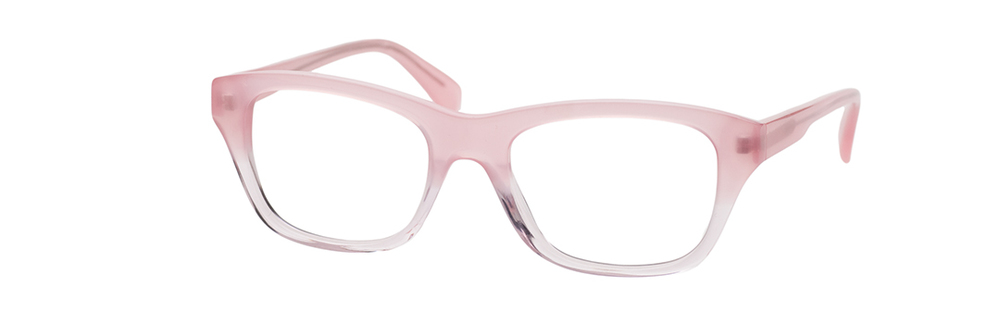 Fetch's Darby glasses in cameo fade; image courtesy of label