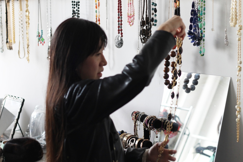 Participants were amazed that the jewelry was so fabulous -- and free!
