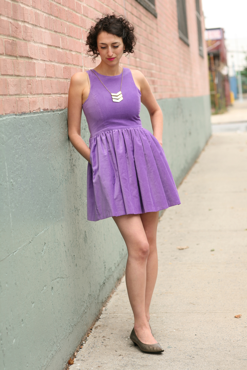 Dress, Vaute Couture; Necklace, Mata Traders: Shoes, model's own