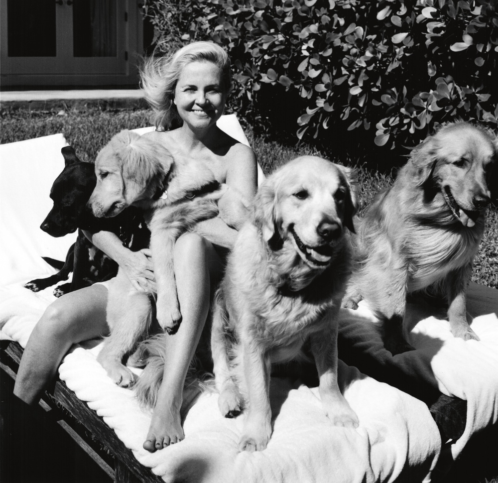 Cornelia Guest and pals; image by Bruce Weber