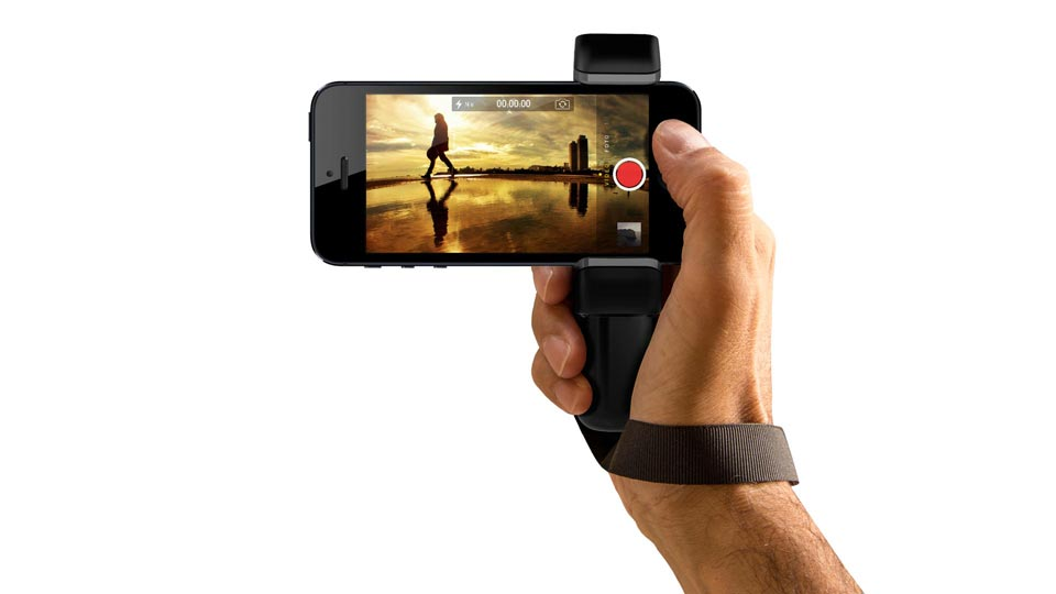 iPhone 5S grip handle - Shoulderpod S1