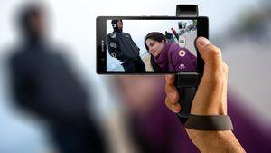 Mango de agarre Sony Xperia Z1 Shoulderpod S1