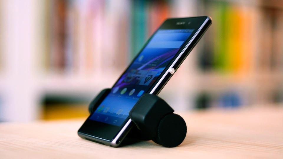 Sony Xperia Z1 desk stand Shoulderpod S1