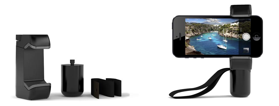 Shoulderpod S1 professional smartphone iPhone rig with camera handle