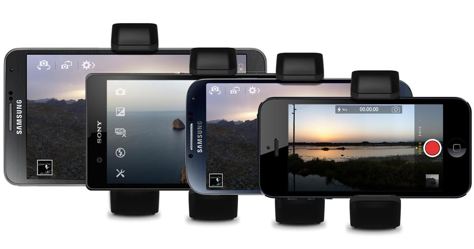 SHOULDERPOD S1 smartphone tripod mount holder grip handle and stand for iPhone Galaxy Xperia Lumia