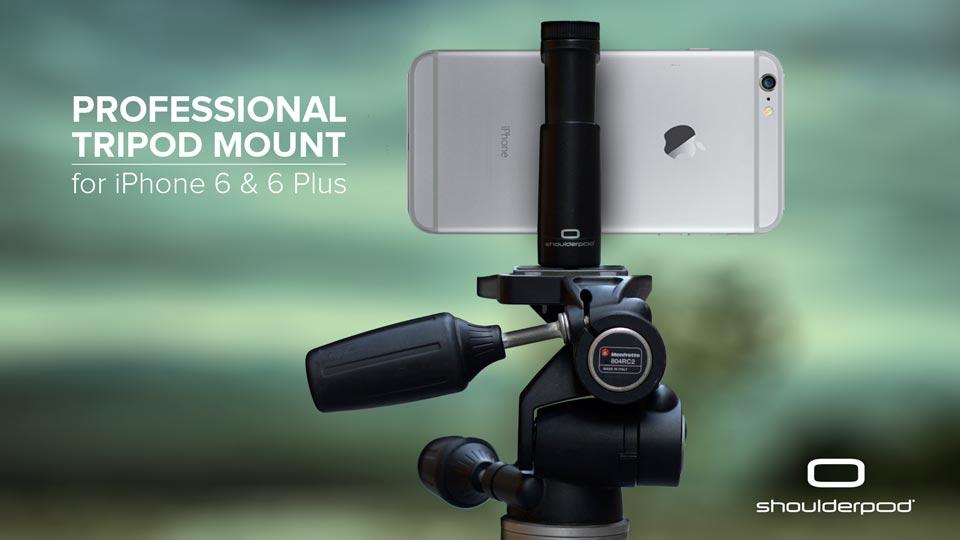 iPhone 6, 7 Plus tripod mount adapter