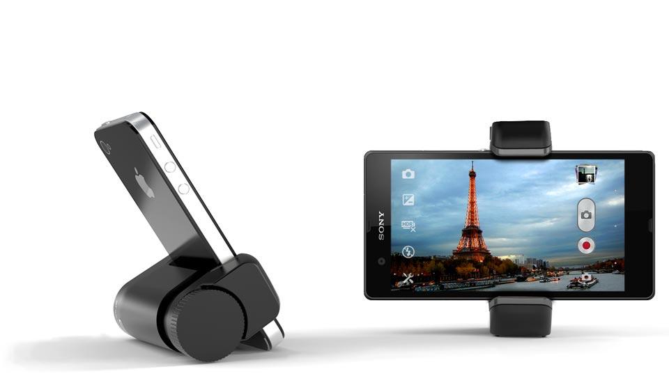 Smartphone camera stand