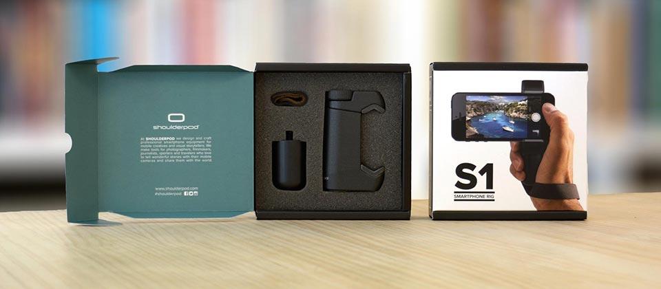 iPhone 5, 6, 7 Plus tripod mount adapter Shoulderpod S1