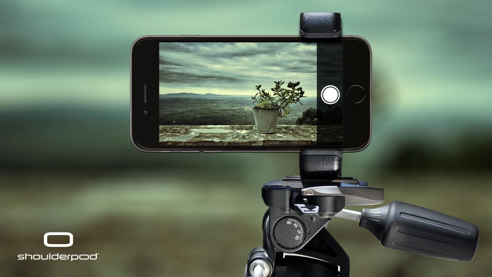 iPhone 6 and 6 Plus Tripod Mount Adapter - Shoulderpod S1