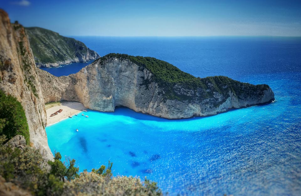 Navagio Beach at Zakynthos shot with galaxy note 3 and Shoulderpod S1