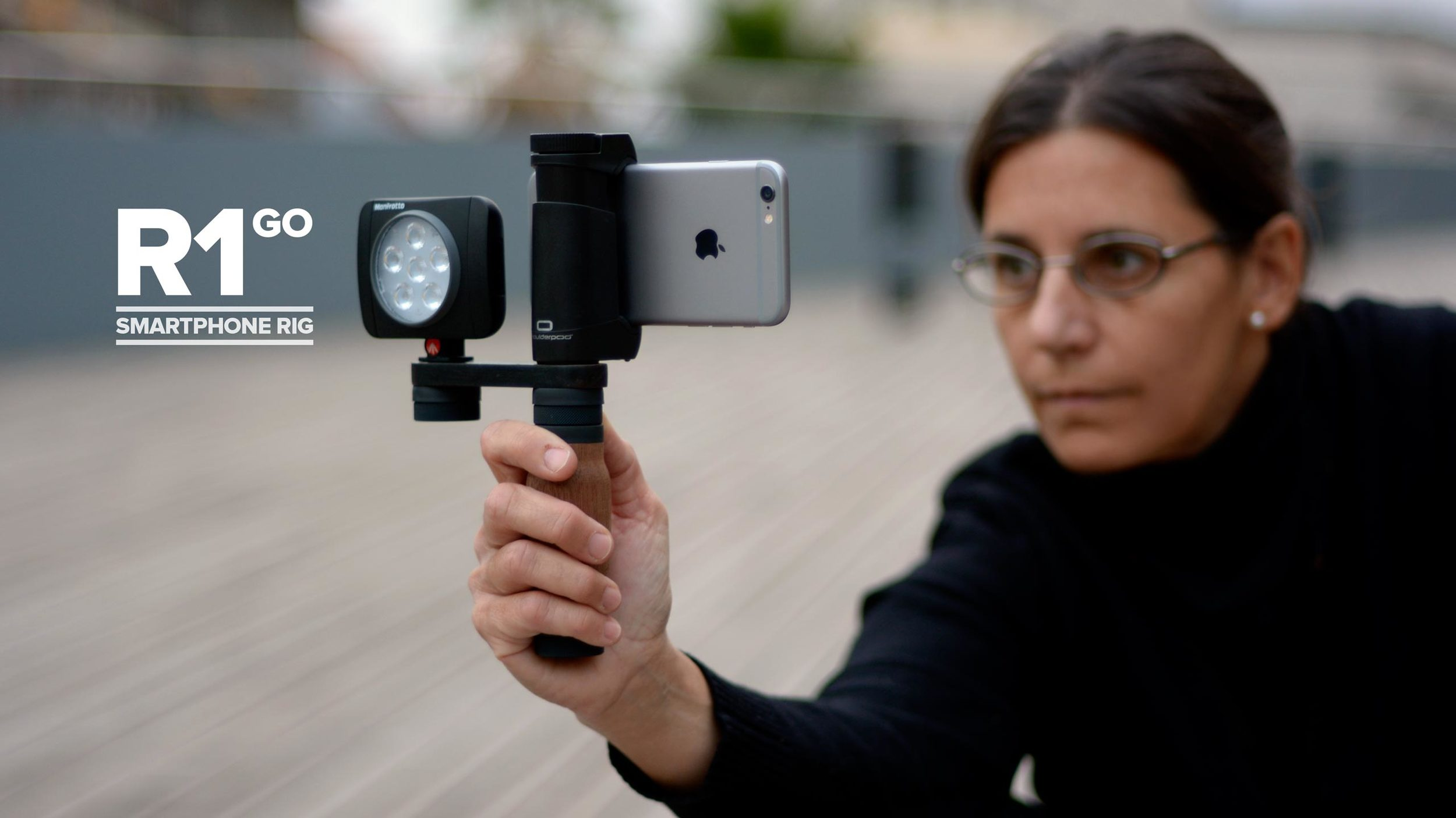 SHOULDERPOD — Shoulderpod R1 Go - Professional iPhone Rig