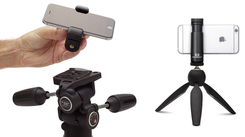 Sgoulderpod G1 tripod mount for iPhone