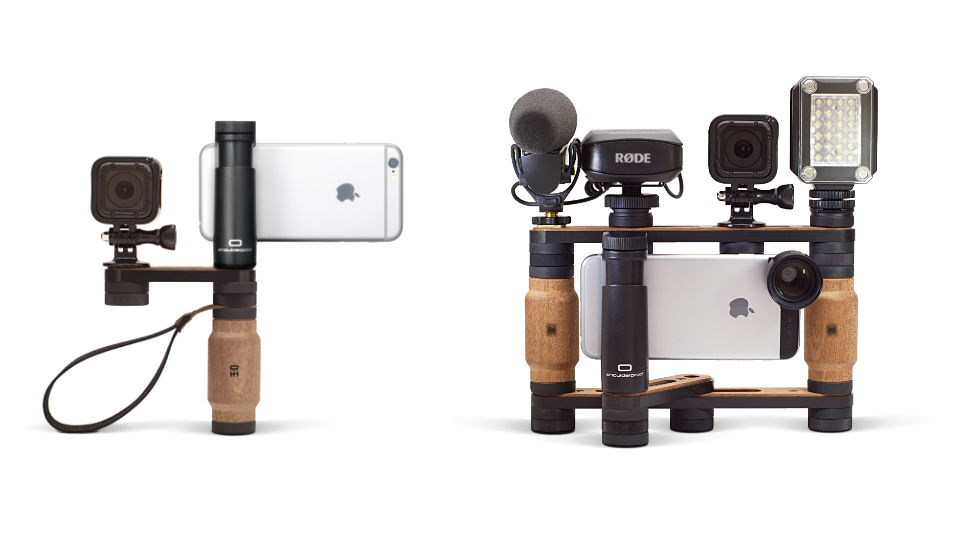Shoulderpod R2 - pocket rig for iPhone - expand