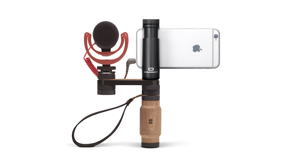 Smartphone and Microphone not included