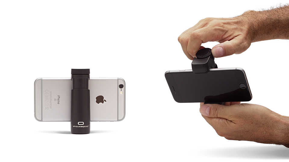Shoulderpod G1 tripod mount for iPhone